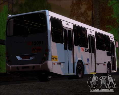 Marcopolo Torino G7 2007 Mercedes-Benz OF-1418 para GTA San Andreas vista inferior
