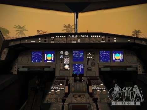 Airbus A340-600 Lufthansa para as rodas de GTA San Andreas