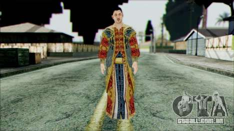 Suleiman from Assassins Creed para GTA San Andreas