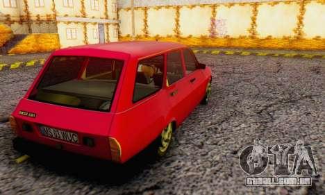Dacia 1310 Break WUC para GTA San Andreas esquerda vista