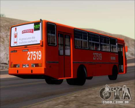 Ciferal GLS Bus Mercedes-Benz OH1420 para GTA San Andreas vista direita