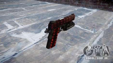 Arma Kimber 1911 Arte da Guerra para GTA 4 segundo screenshot