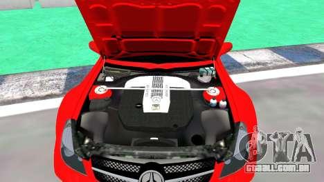 Mercedes Benz SL65 AMG Black Series para GTA 4 vista direita