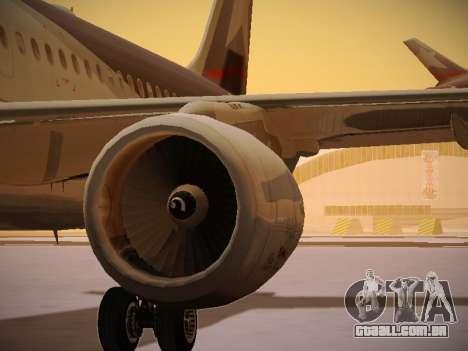 Airbus A320-214 LAN Airlines para o motor de GTA San Andreas