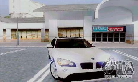 Bmw X1 para GTA San Andreas traseira esquerda vista