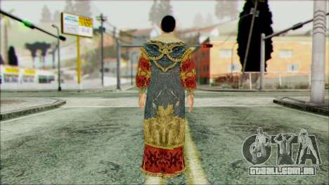 Suleiman from Assassins Creed para GTA San Andreas segunda tela