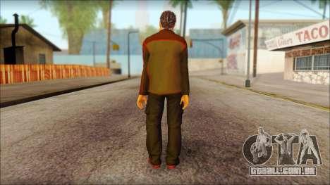 GTA 5 Ped 8 para GTA San Andreas segunda tela
