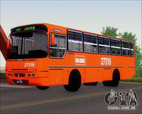 Ciferal GLS Bus Mercedes-Benz OH1420 para GTA San Andreas esquerda vista