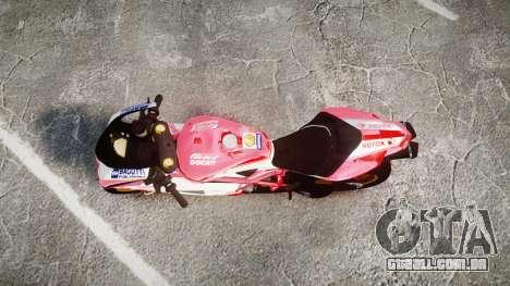 Ducati 1198 R para GTA 4 vista direita