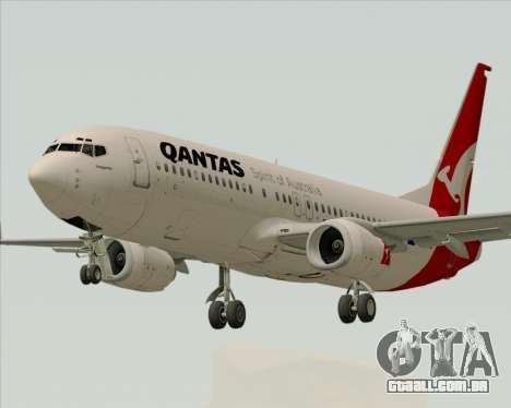 Boeing 737-838 Qantas para GTA San Andreas