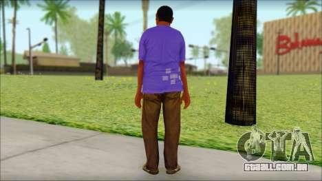 GTA 5 Ped 21 para GTA San Andreas segunda tela