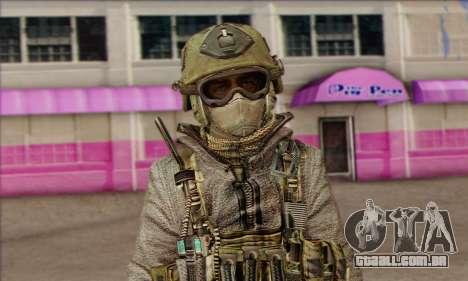 Task Force 141 (CoD: MW 2) Skin 7 para GTA San Andreas terceira tela