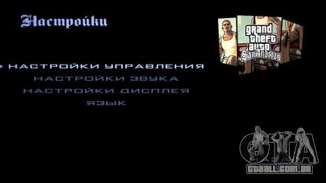 HD tela de carregamento e menu para GTA San Andreas décimo tela