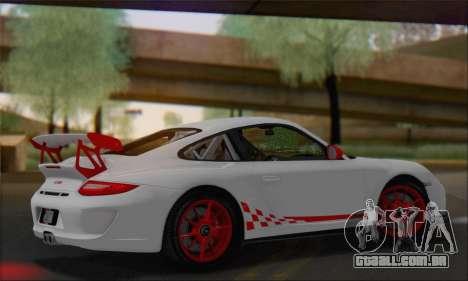 Porsche 911 GT3 2010 para GTA San Andreas vista interior