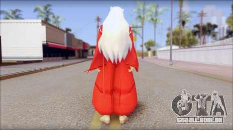 InuYasha para GTA San Andreas segunda tela