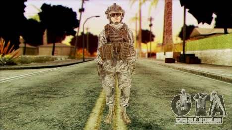 Ranger (CoD: MW2) v4 para GTA San Andreas