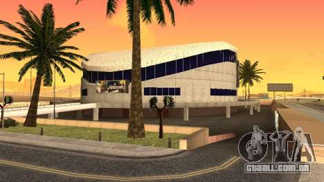 Texturas HD estádio de Las Venturas para GTA San Andreas