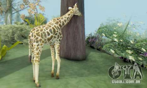 Giraffe (Mammal) para GTA San Andreas terceira tela