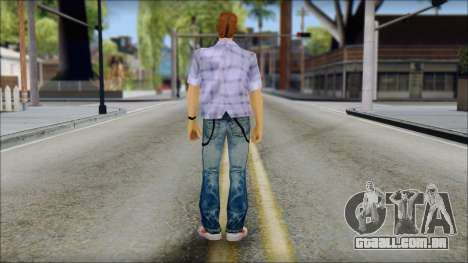 Marty from Back to the Future 1985 para GTA San Andreas segunda tela