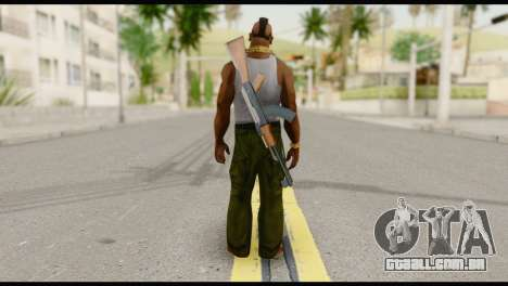 MR T Skin v8 para GTA San Andreas segunda tela
