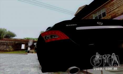 Nissan Maxima para GTA San Andreas vista direita