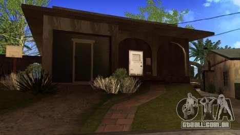 Novas texturas HD casas na grove street v2 para GTA San Andreas sétima tela