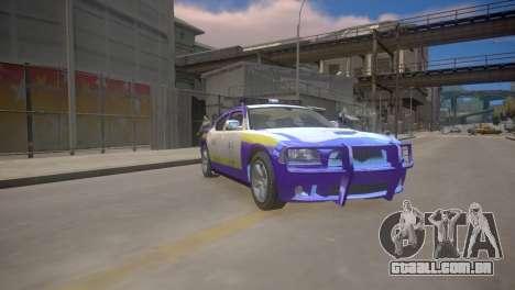 Dodge Charger Kuwait Police 2006 para GTA 4