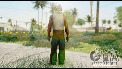 MR T Skin v2 para GTA San Andreas segunda tela