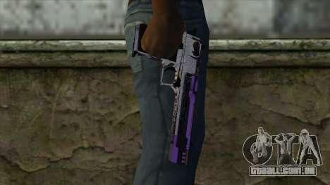 PurpleX Desert Eagle para GTA San Andreas terceira tela
