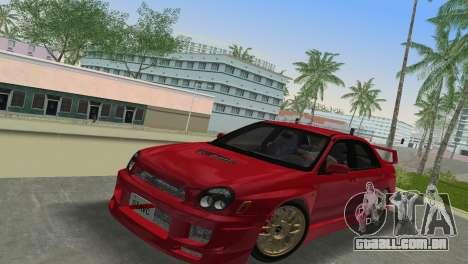 Subaru Impreza WRX 2002 Type 6 para GTA Vice City