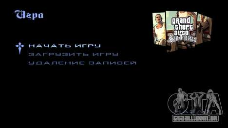 HD tela de carregamento e menu para GTA San Andreas oitavo tela