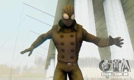 Skin The Amazing Spider Man 2 - DLC Noir para GTA San Andreas