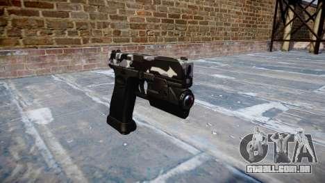 Pistola Glock de 20 sibéria para GTA 4