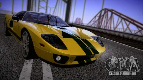 Ford GT 2005 Road version para GTA San Andreas