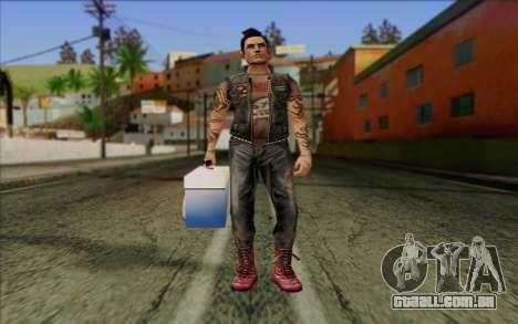 Claude in Pank Style para GTA San Andreas