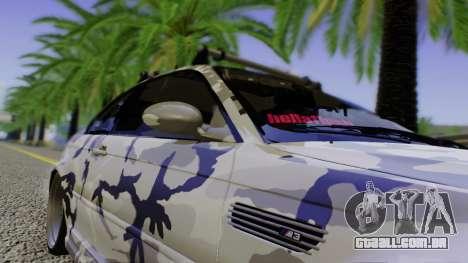 BMW M3 E46 Coupe 2005 Hellaflush v2.0 para GTA San Andreas vista superior