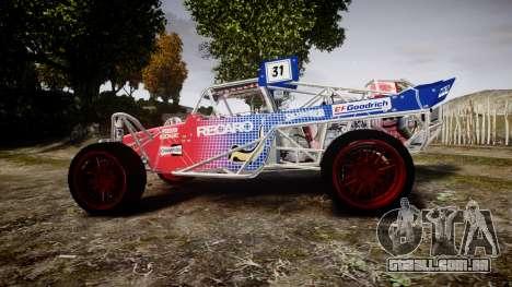 Buggy para GTA 4 esquerda vista