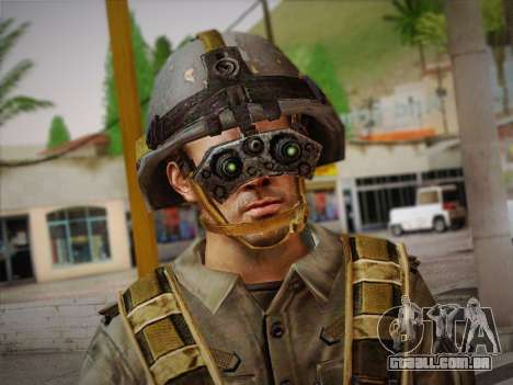 Боец СВР (Tom Clancy Splinter Cell) v2 para GTA San Andreas terceira tela