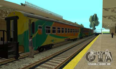 K3 Econom Passangers Cars para GTA San Andreas