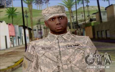 California National Guard Skin 5 para GTA San Andreas terceira tela