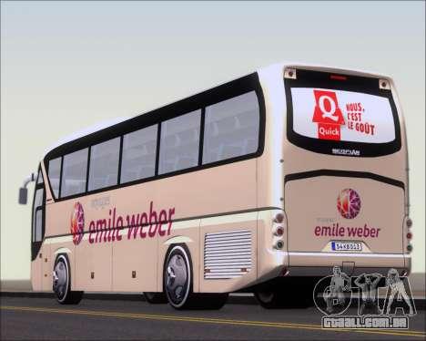 Neoplan Tourliner Emile Weber para GTA San Andreas interior