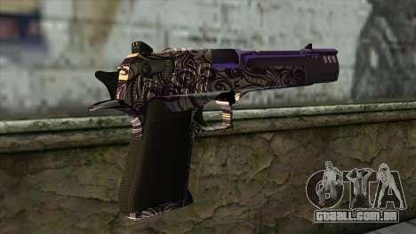 PurpleX Desert Eagle para GTA San Andreas segunda tela