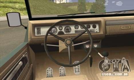 GTA V Canis Kalahari para GTA San Andreas traseira esquerda vista