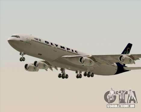 Airbus A340-313 Olympic Airlines para o motor de GTA San Andreas