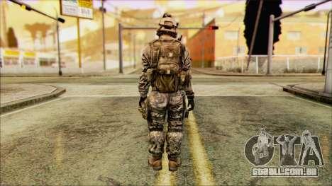 Lutador (PLA) v1 para GTA San Andreas segunda tela