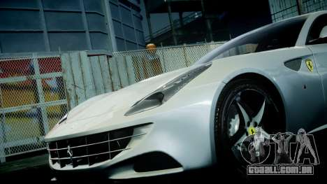 Ferrari FF 2011 v1.5 para GTA 4 vista superior