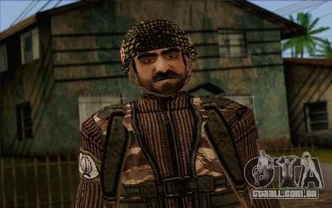Soldados MEK (Battlefield 2) Pele 4 para GTA San Andreas terceira tela