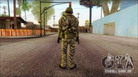 Um soldado Norte-coreano (Rogue Warrior) para GTA San Andreas segunda tela