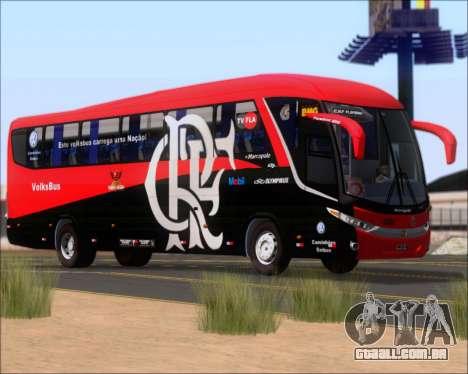 Marcopolo Paradiso 1200 G7 4X2 C.R.F Flamengo para GTA San Andreas vista inferior