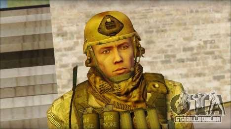 USA Soldier v1 para GTA San Andreas terceira tela